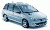 Peugeot 206 SW (2E/K) 1.4 16V