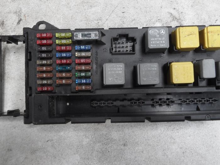 used mercedes sprinter 3 5t 906 63 315 cdi 16v fuse box a9065450401 autorecycling n kossen
