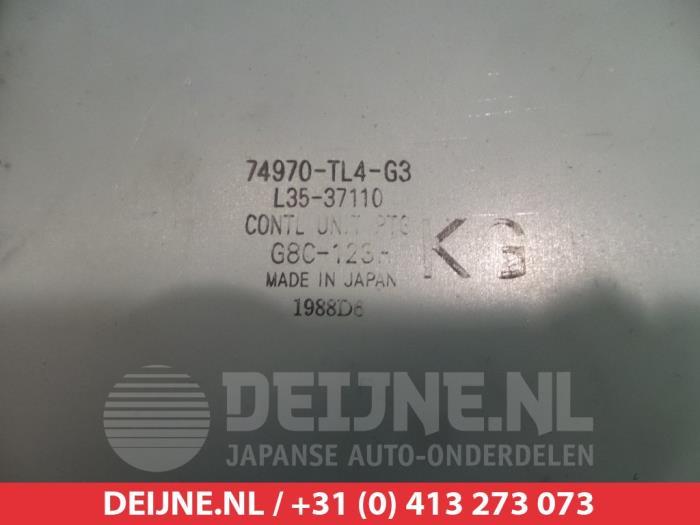Gebruikte Honda Accord Computer Diversen 74970tl4g3 N22b1 V