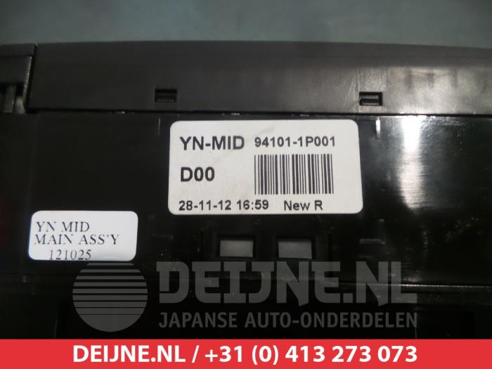 Gebruikte kia venga display interieur 941011p001 g4fa for Auto onderdelen interieur