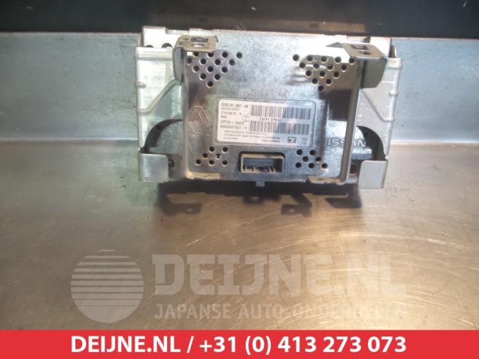 Gebruikte nissan qashqai display interieur 28091ep000 for Auto onderdelen interieur