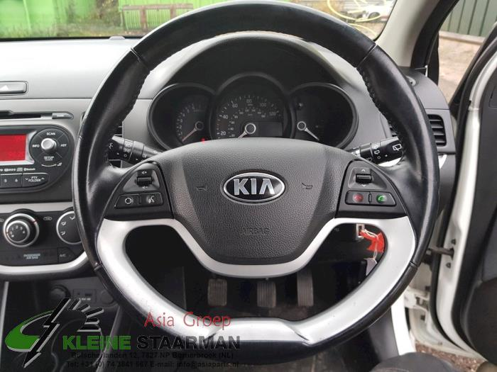 Airbag links (Stuur) van een Kia Picanto (TA) 1.0 12V 2014