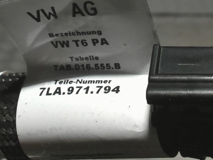 Kabelboom van een Volkswagen Transporter/Caravelle T6 2.0 TDI 204 2021