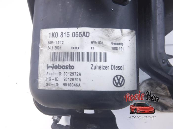 Standkachel van een Volkswagen Touran (1T1/T2) 1.9 TDI 105 Euro 3 2006