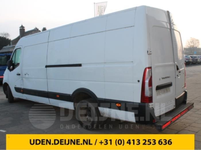 Treeplank achter - Opel Movano