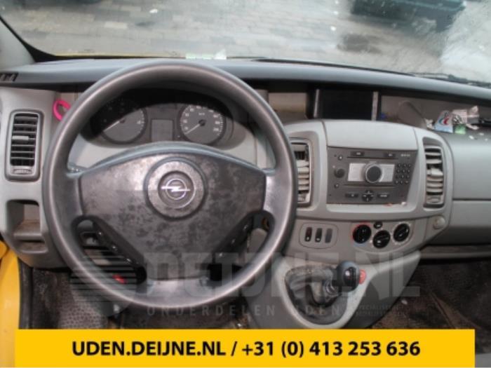Display Multi Media regelunit - Opel Vivaro