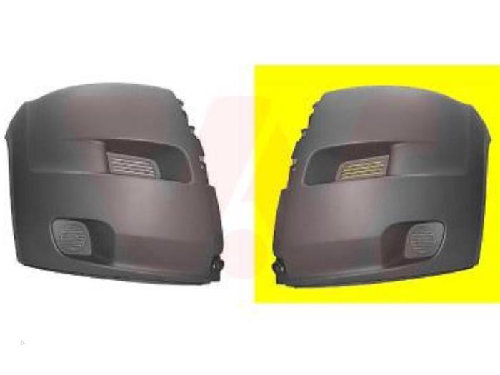 Bumperhoek links-voor - Peugeot Boxer