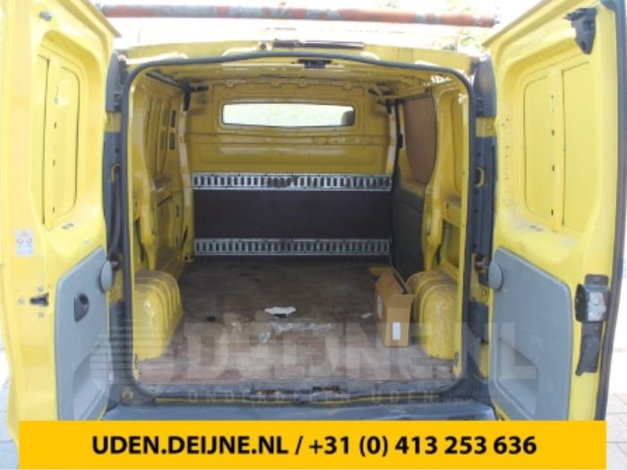 Tussenschot Cabine - Opel Vivaro