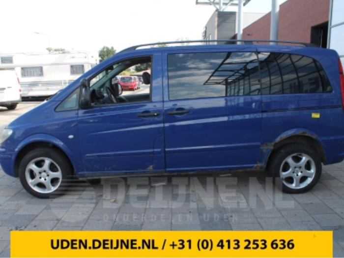 Extra Ruit 2Deurs links-achter - Mercedes Vito