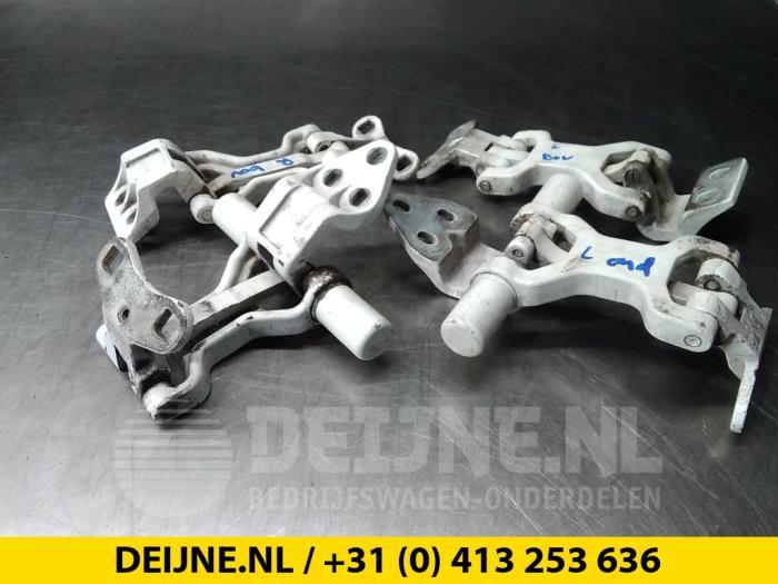 Scharnierset - Fiat Ducato