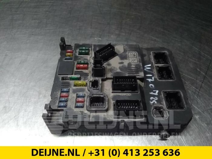 Zekeringkast - Citroen Berlingo