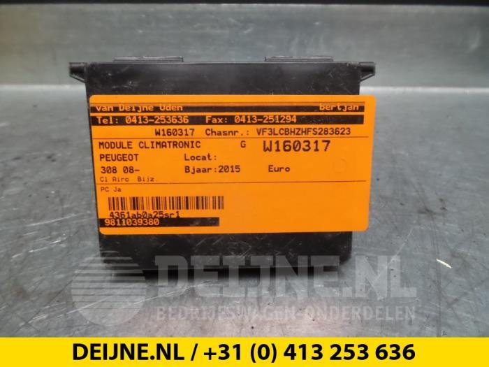 Module climatronic - Peugeot 308