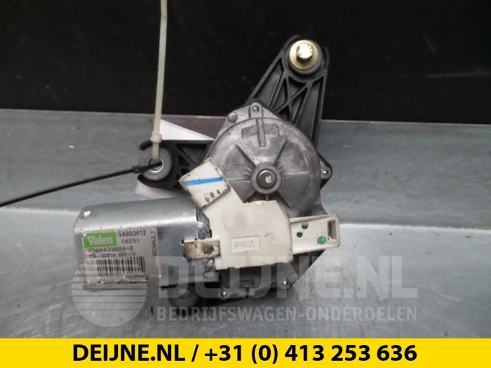 Ruitenwissermotor achter - Renault Scenic