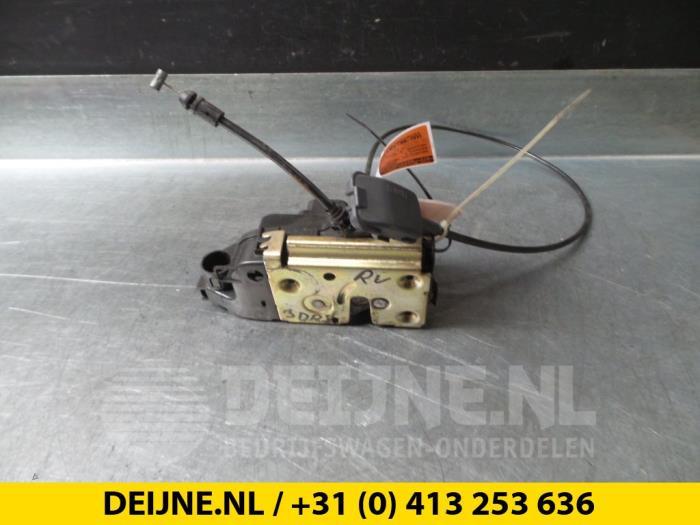 Deurslot Mechaniek 2Deurs rechts - Renault Megane