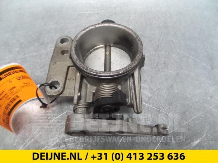 Gasklephuis - Renault Laguna