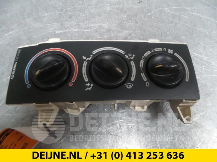 Kachel Bedieningspaneel - Renault Megane