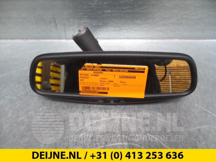 Binnenspiegel - Peugeot 407