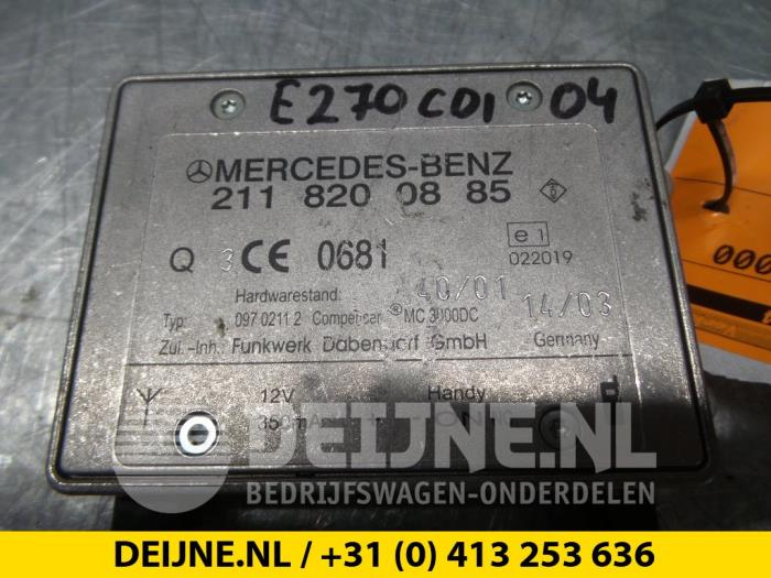 Telefoon Module - Mercedes E-Klasse