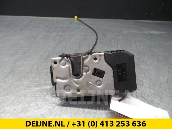 Deurslot Mechaniek 2Deurs rechts - Renault Trafic