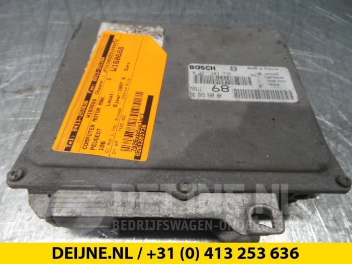 Computer Motormanagement - Peugeot 106