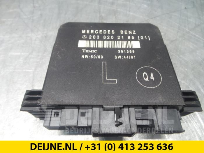 Central electronic module - Mercedes C-Klasse