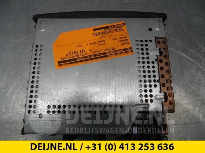 Radio - Renault Trafic