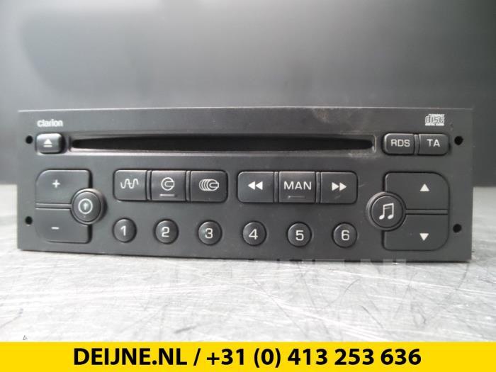 Radio CD Speler - Citroen C5