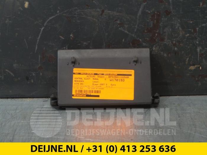 Central electronic module - Mercedes Vito