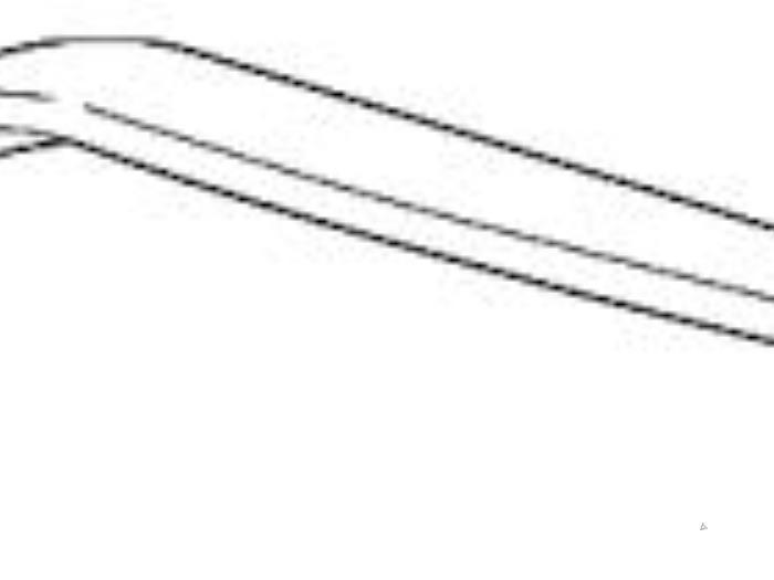 Koplamprand rechts - Volvo S80