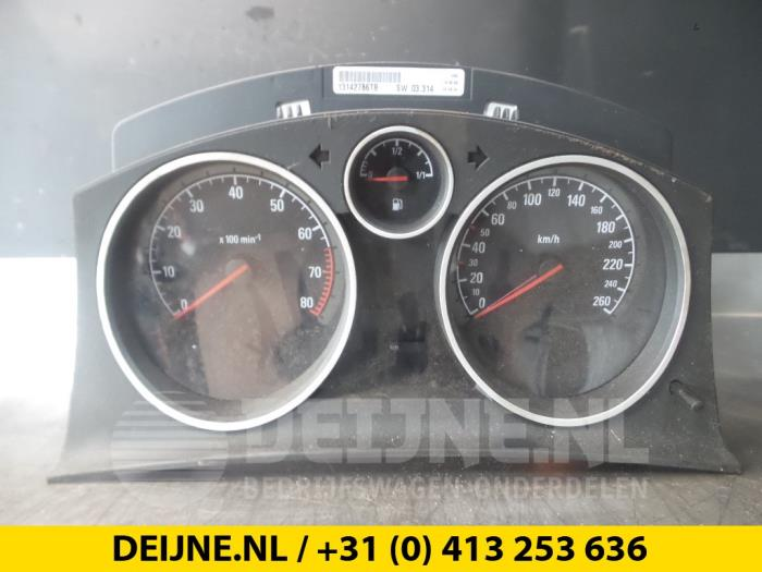 Instrumentenpaneel - Opel Astra