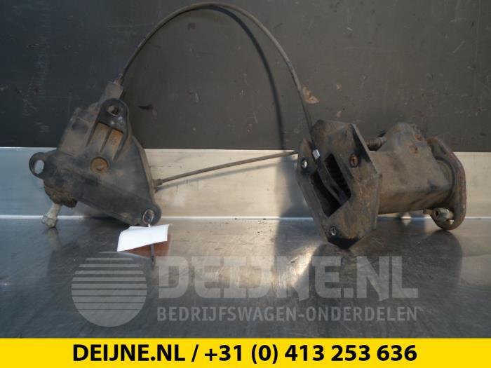 Hefmechniek Reservewiel - Peugeot Bipper