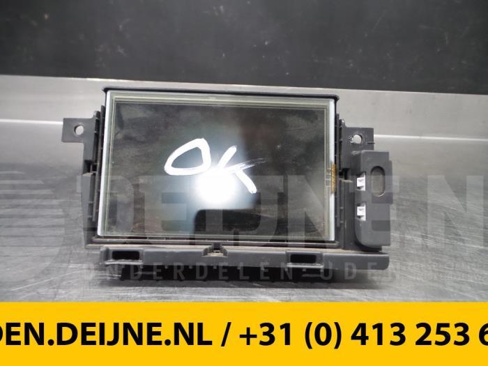 Display Multi Media regelunit - Renault Kangoo