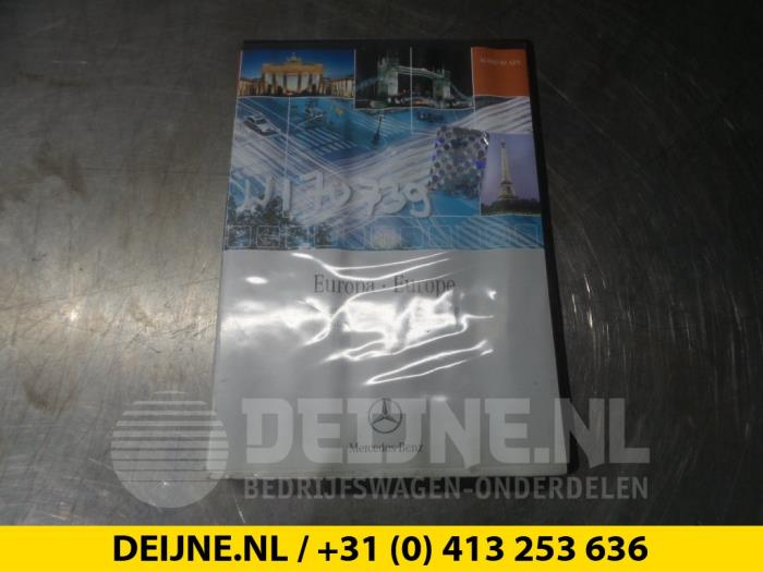 Navigatie CD - Mercedes A-Klasse