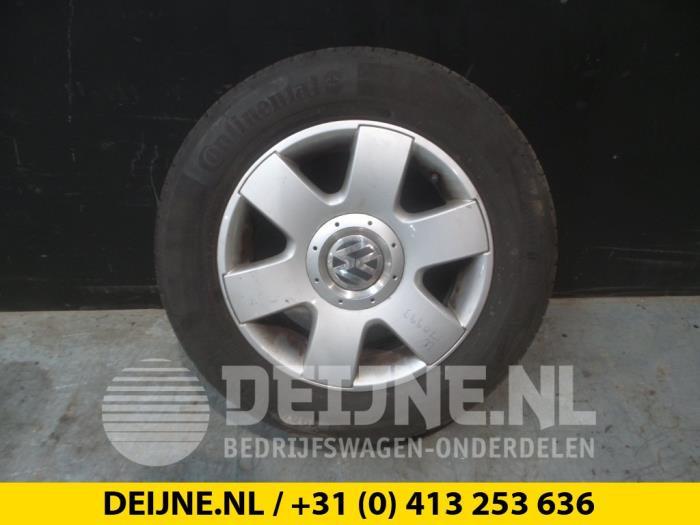 Gebruikte Volkswagen Caddy Velgen Set Banden Lichtmetaal