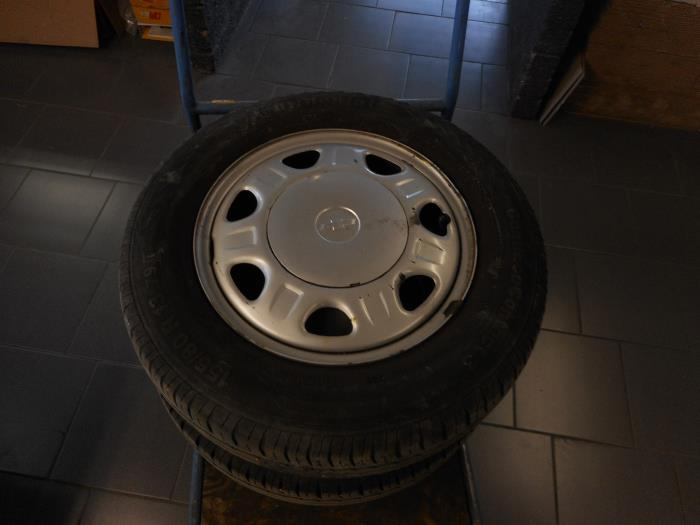 Set Of Wheels Tyres Maresia Auto Recycling