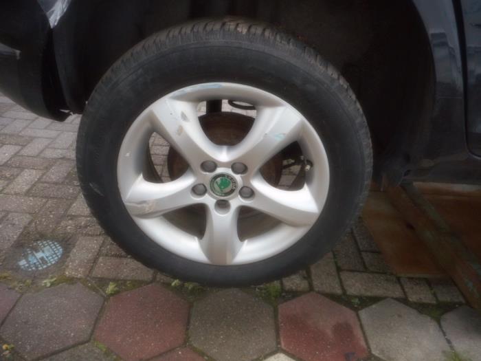 Set Of Wheels For Skoda Fabia Wwwmaresiaeu