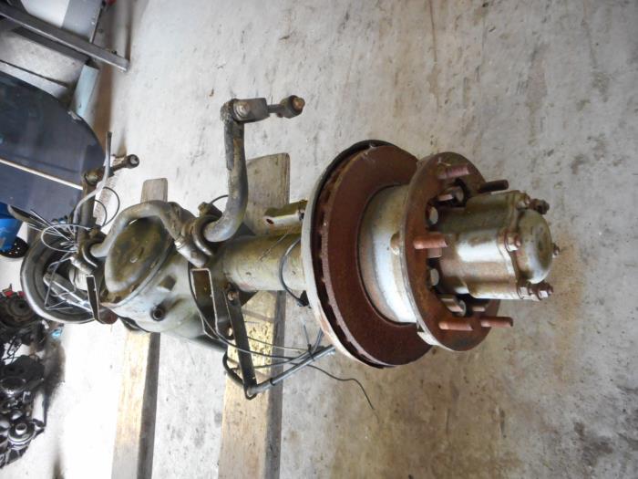 Rear axle + drive shaft for Mercedes Sprinter A9063502000