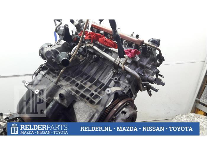 Toyota Corolla (E12) 1.4 16V VVT-i 2003 Motor (klik op de afbeelding voor de volgende foto)