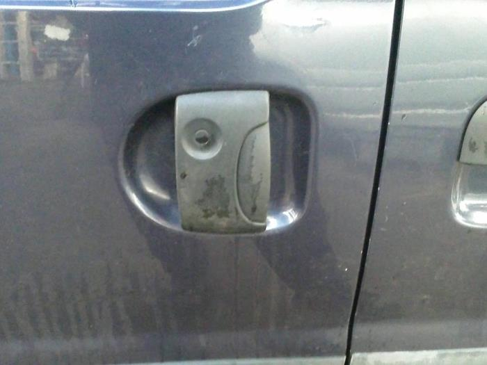 Kit Serrures De Porte 2 Clés Nissan Kubistar