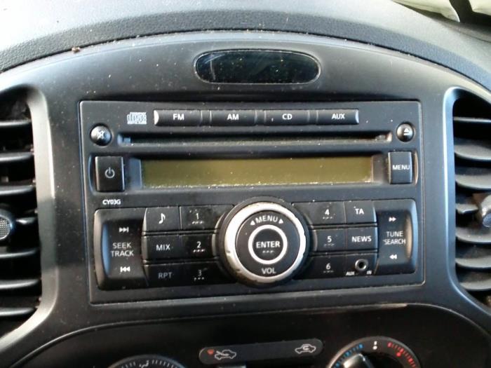 Nissan Juke (F15) 1.6 16V 2011 Radio CD Speler (klik op de afbeelding voor de volgende foto)