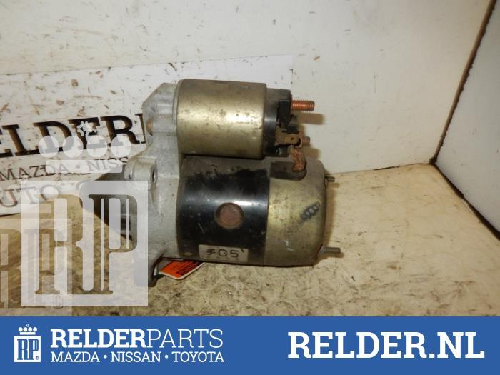 Mazda Demio 1.3 16V 1998 Startmotor (klik op de afbeelding voor de volgende foto)