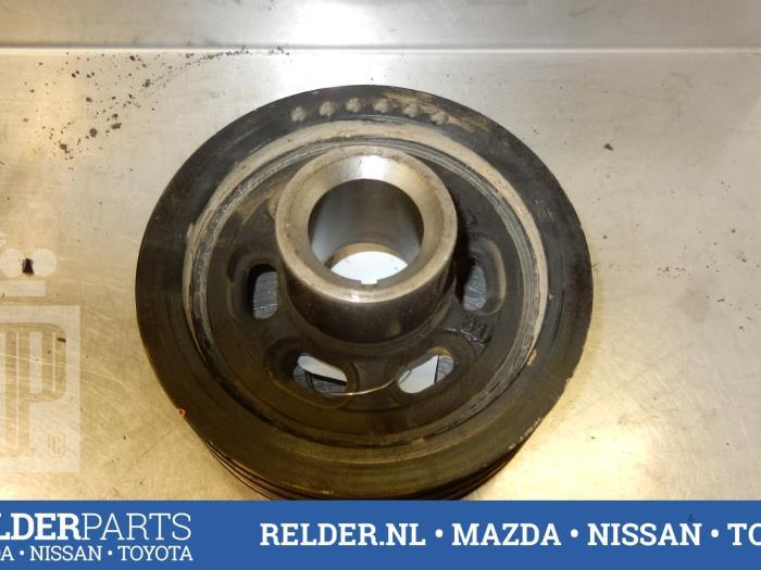 Mazda BT-50 2.5 Di 16V 4x4 2011 Poelie Krukas (klik op de afbeelding voor de volgende foto)