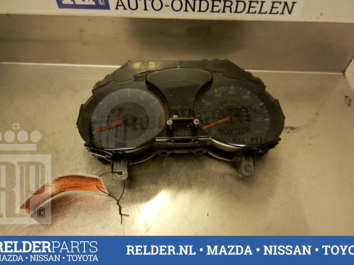 Nissan Juke (F15) 1.6 DIG-T 16V 2013 Instrumentenpaneel (klik op de afbeelding voor de volgende foto)