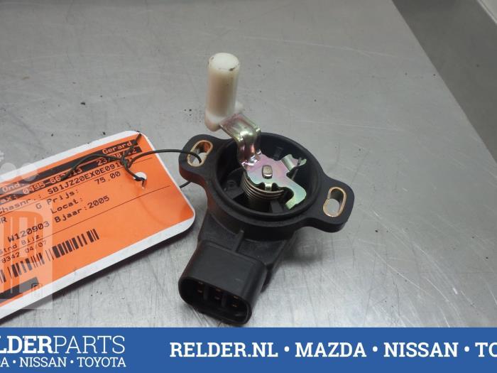 Toyota Corolla (E12) 1.6 16V VVT-i 2005 Gaspedaalpositie Sensor (klik op de afbeelding voor de volgende foto)