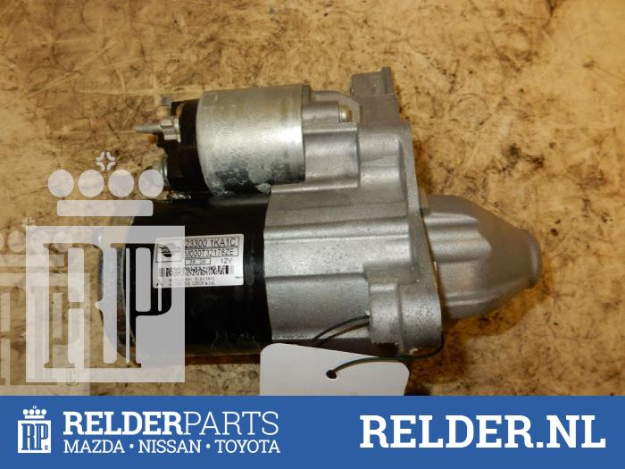 Nissan Juke (F15) 1.6 16V 2013 Startmotor (klik op de afbeelding voor de volgende foto)