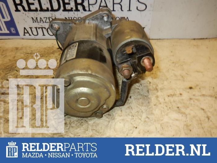 Mazda Demio 1.5 16V 2002 Startmotor (klik op de afbeelding voor de volgende foto)