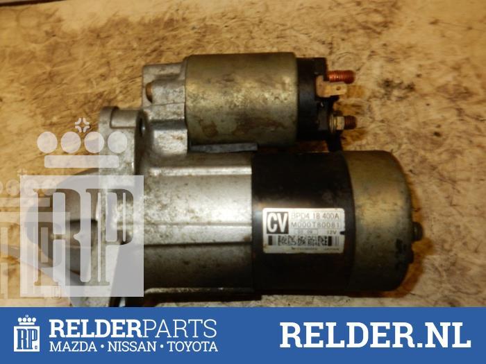 Mazda Demio 1.3 16V 2001 Startmotor (klik op de afbeelding voor de volgende foto)