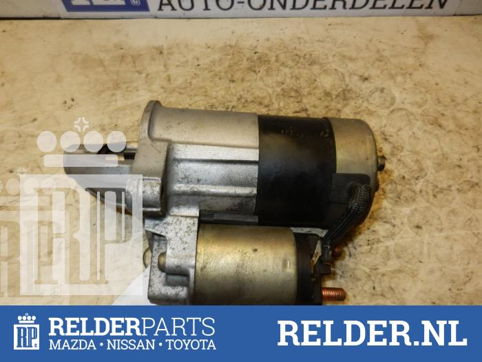 Mazda Demio 1.5 16V 2004 Startmotor (klik op de afbeelding voor de volgende foto)