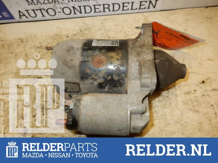 Mazda Demio 1.3 16V 2000 Startmotor (klik op de afbeelding voor de volgende foto)