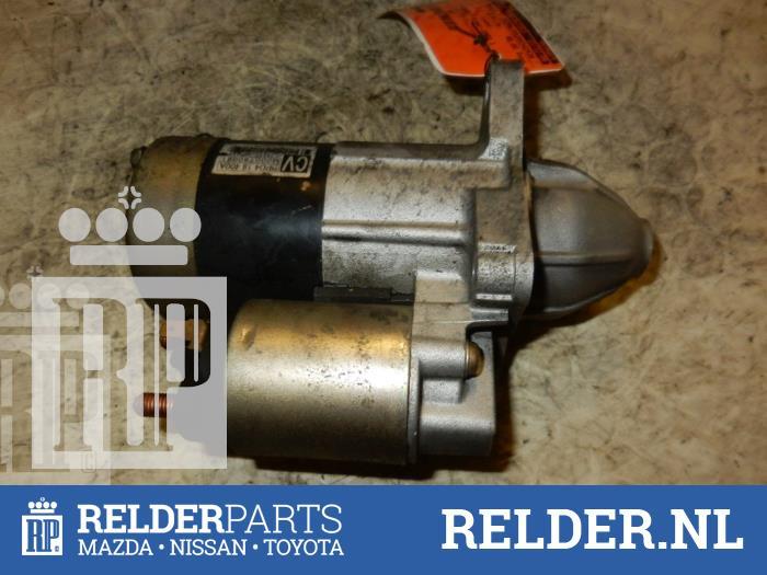 Mazda Demio 1.5 16V 2003 Startmotor (klik op de afbeelding voor de volgende foto)